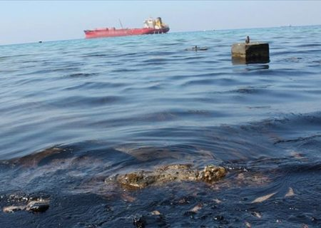 نشت نفت در سواحل روسیه در دریای سیاه