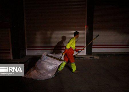 جمع آوری روزانه یک هزارتن پسماند تبریز در تعطیلات کرونایی