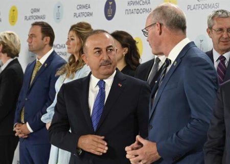 ترکیه، الحاق کریمه به روسیه را به رسمیت نمی شناسد