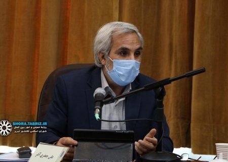 علی جعفری آذر، برنامه خود را جهت تصدی گری شهرداری تبریز ارائه کرد