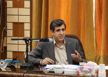 مظفر سلیمانی برنامه خود را جهت تصدی گری شهرداری تبریز ارائه کرد + فایل برنامه پیشنهادی