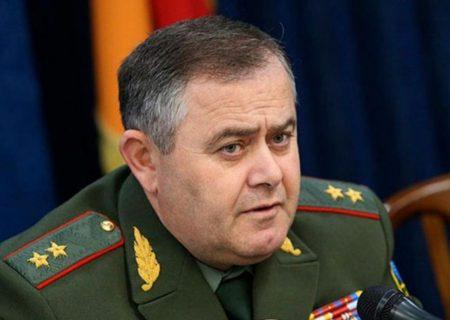 رئیس ستاد کل نیروهای مسلح ارمنستان در مورد وضعیت مرزهایش با آذربایجان صحبت کرد