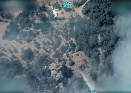 نقش پررنگ پهپادها در کنترل آتشسوزیهای جنگلی در ترکیه