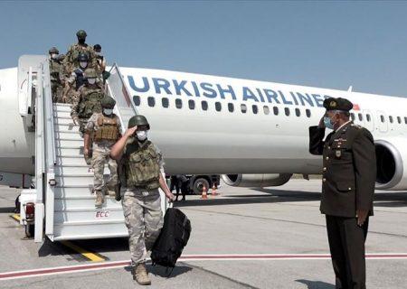دومین کاروان سربازان ترکیه از افغانستان بازگشتند