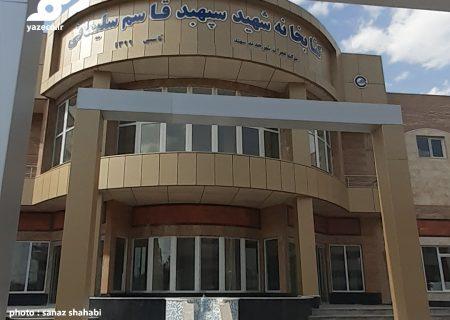 پروژه کتابخانه شهید قاسم سلیمانی شهر جدید سهند، لنگ دریافت پایان کار