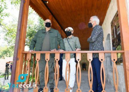 افتتاح خانه موزه هنرمند بزرگ آذربایجان بولبول