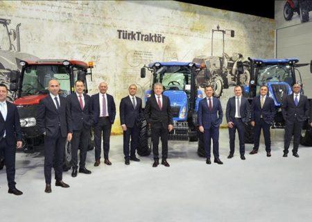 شرکت ترک تراکتور رکورد تولید و صادرات را شکست