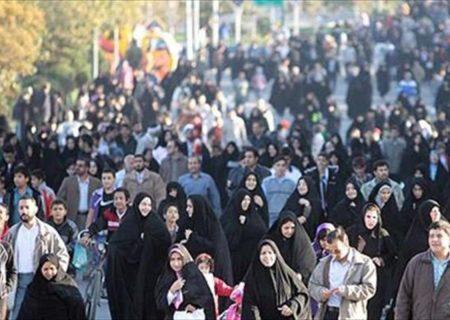 تاثیر کرونا بر رشد جمعیت در ایران