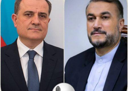 تماس تلفنی وزیر امور خارجه جمهوری آذربایجان با دکتر امیرعبداللهیان