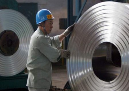 قیمت آلومینیوم رکورد ۱۰ ساله زد
