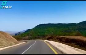 ویدیویی از جاده تازه تاسیس به شوشا موسوم به ظفر جاده سی