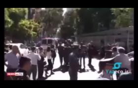ویدیویی از آغاز اعتراضات مجدد علیه نخست وزیر ارمنستان نیکول پاشینیان