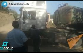 رانندگان ایرانی به دنبال پیدا کردن راه های جایگزین برای اجتناب از عبور از قسمت آذربایجانی جاده گوریس-قافان هستند.
