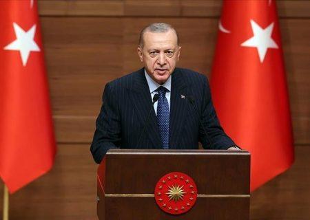 رئیس جمهور ترکیه تاکید کرد: ۲۰۲۳ نماد شکوفایی مجدد کشور و مردم ترکیه است