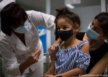 واکسیناسیون کودکان ۲ تا ۱۱ ساله در کوبا بر علیه کرونا آغاز گردید