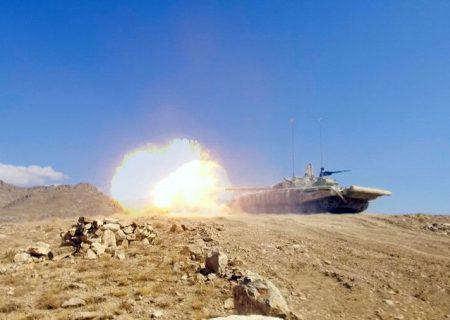 تمرینات نظامی مشترک جمهوری آذربایجان و ترکیه در نخجوان ادامه دارد
