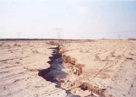 مرگ پنهان زمین با کاهش آبهای زیر زمینی در آذربایجان غربی