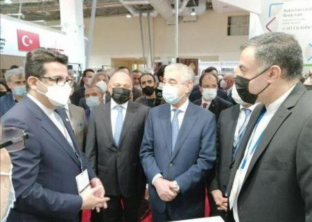 حضور ایران در نمایشگاه بین المللی کتاب باکو
