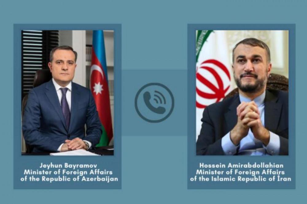 وزرای خارجه جمهوری آذربایجان و ایران روابط دو کشور را مورد بحث و بررسی قرار دادند