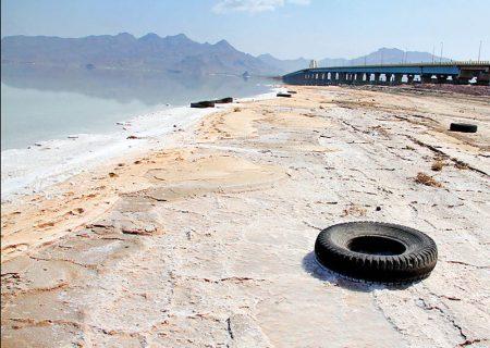 کاهش وسعت دریاچه ارومیه   احیای دریاچه ناممکن شد؟