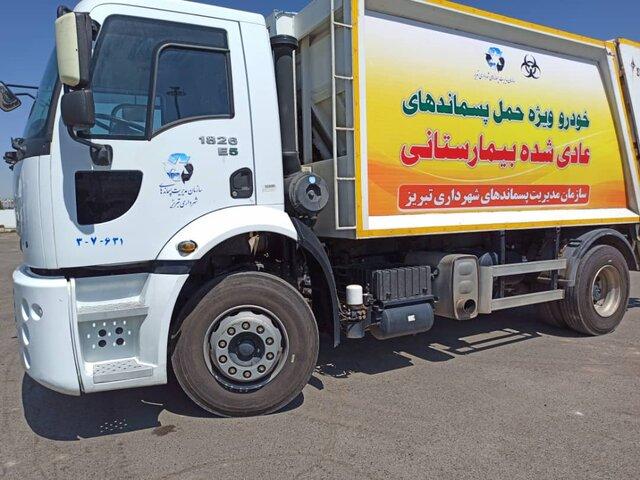 روزانه بیش از ٢٠ تن پسماند بیمارستانی و پزشکی در تبریز جمع آوری میشود