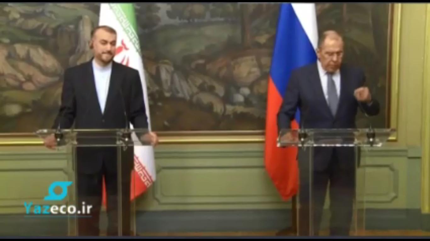 دیدار وزیر امورخارجه ایران و روسیه
