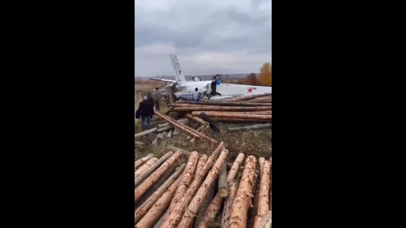 سقوط هواپیما در جمهوری تاتارستان روسیه